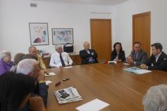 Conferenza stampa Adamo e Azienda Ospedaliera